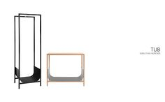 Schönbuch offers creative, functional solutions for the entrance area - coat stands