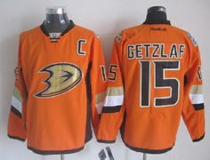 $$33$$ For 2014 Men's Anaheim Ducks #15 Ryan Getzlaf Orange Stadium Series NHL Jersey