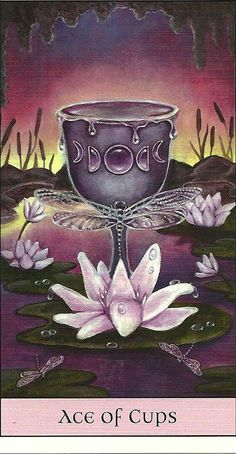 Ace of Cups - Crystal Visions Tarot
