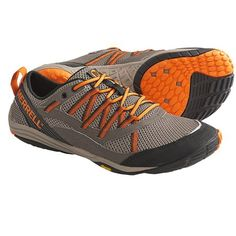 Merrell Flux Glove Sport Running Shoes - Barefoot (For Men) 9.5