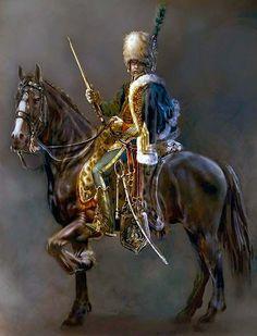 """French hussar"", Mariusz Kozik:"