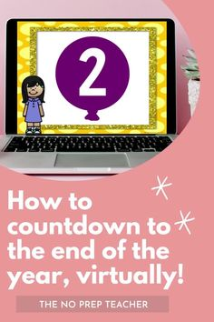 Teachers, need a fun way to celebrate the end of the year with your students? This digital balloon pop countdown is the perfect way to make the end of the school year memorable for your kids. Your elementary students will love the simple, free rewards they get every day through the end of the year. Perfect for online teachers or those teaching in hybrid set ups. All rewards will work for students learning from home or in socially distanced classrooms.