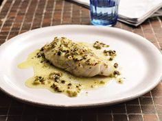 Fisch in Kapernbutter mit Oliven