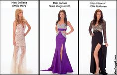 NewYorkDress Blog // Miss USA Mac Duggals // Click through to see the Miss USA Contestants looking gorgeous in Mac Duggal!