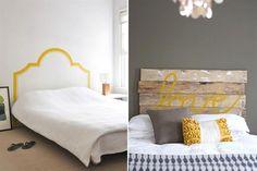 Ideas diferentes para cabezales de camas - Living - ESPACIO LIVING Sweet Home, Interior Decorating, Bedroom, Ideas Para, Furniture, Decoration, Home Decor, Google, Handmade