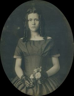 thehystericalsociety:  American beauty - mid to late 1800s (Via)