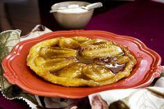 Feijoa tarte Tatin recipe, Viva – Caramelised feijoas go beautifully with crispy pastry in this feijoa tarte Tatin. – foodhub.co.nz