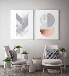 Geometric Harmony Canvas set of 2 canvas prints will create a beautiful gallery wall decor in any home. It features geometric elements in different colour options like charcoal navy, blush, marble and copper like texture (NOT a foil print), blush and grey, grey, black & silver, teal green. Beautiful diptych for modern walls of any space like office, bedroom, living room, nursery etc. inspired by minimal Scandinavian design. Chic and modern housewarming gift. Elevate your space by creating a… Scandinavian Design, Design, Canvas Frame, Canvas, Canvas Set, Geometric, Traditional Picture Frames, Foil Print