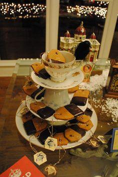 tea bag gingerbread cookies