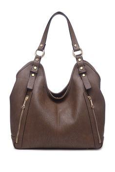 Segolene Paris | Vegan Leather Hobo Bag | HauteLook