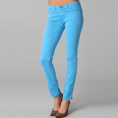 The Stilt in Highlighter Blue featured on Carolines Mode as one of her favs!    http://carolinesmode.com/lovesit/art/237544/jeans/ #AGsummerfade