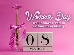 "Happy International Women's Day Quotes with Card Images for Wishes 8 March 2014 ""The age of a woman does not mean a thing. Women's Day Wishes Images, Wishes Messages, Happy Woman Day, Happy Mothers Day, Happy Valentines Day, International Womens Day Quotes, Happy International Women's Day, Happy Womens Day Quotes, Happy Quotes"