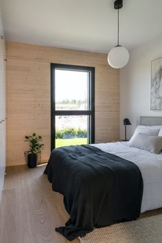 Cabin Interiors, Bedroom Styles, Log Homes, Scandinavian Style, Sassy, House Ideas, Architecture, Decoration, Furniture