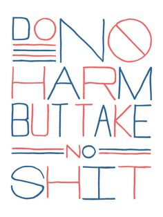 Do No Harm Poster by @Andrew Mager Mager Martis Andrew Martis | HOLSTEE