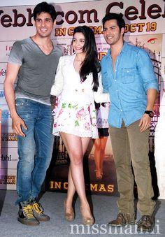 Siddharth Malhotra, Alia Bhatt and Varun Dhawan Bollywood Couples, Bollywood Gossip, Bollywood Stars, Indian Celebrities, Bollywood Celebrities, Bollywood Actress, Hot Actresses, Indian Actresses, Bebe Rexa