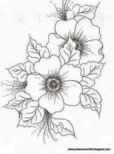 Nice Flower Print   Now If I Could Color, Blend And Shade.