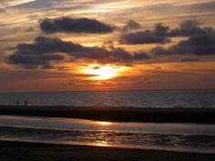 Ein Sonnenuntergang auf Norderney