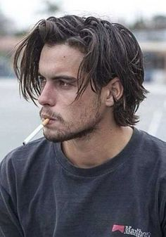 36 The Best Medium Length Hairstyles for Men This Year – Men's Hairstyles and Beard Models Medium Length Hair Men, Mens Medium Length Hairstyles, Mens Hairstyles With Beard, Medium Hair Cuts, Haircuts For Men, Easy Hairstyles, Straight Hairstyles, Mens Medium Haircuts, Hairstyle For Medium Length Hair
