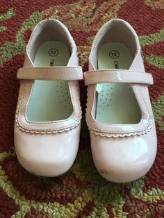 Girls Cherokee Pink Velcro Shoes Size 12 | eBay