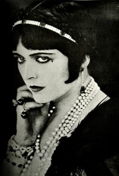 "Pola Negri (1894-1987)""Love is disgusting when you no longer possess yourself.""    Pola!"