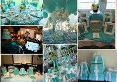 Tiffanys wedding decoration   ... Wedding World: Bridal Shower Inspirations: Amy's Breakfast at Tiffany