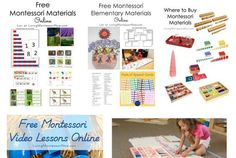 Free or Inexpensive Montessori Material Resources Montessori Materials, Writing, Education, Blog, Free, Blogging, Onderwijs, Being A Writer, Learning