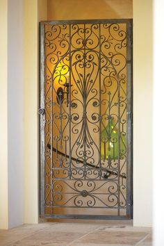 Interior Gates Wrought Iron Indoor Gate Make The Dog