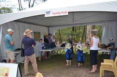 The Find30 Every Day Family Hub was abuzz with activity - sponsored by ACT Health at the Summer Sounds concerts.