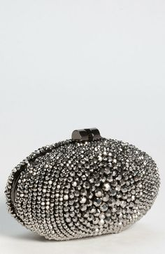 Beaded Bulls Eye Clutch