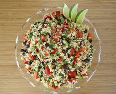 The Garden Grazer: Mexican Quinoa Salad(Vegan, Gluten-Free)