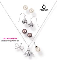 Festive Interchangeable Pendant and Earrings Gift Set $12.99 www.youravon.com/pamelataylor