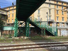 Milano   Porta Genova - Il ponte icona di via Tortona che fine farà? - Urbanfile Blog Milano, Cabin, House Styles, Blog, Future, Cabins, Cottage, Cubicle