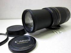 KC692LC キャノン CANON EF 75-300mm F4-5.6 Ⅱ ジャンク_キャノン CANON EF 75-300mm F4-5.6 Ⅱ