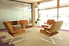 ESI Group offices Severin Line furniture by Alex de Rouvray