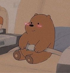 Ice Bear We Bare Bears, We Bear, Friends Wallpaper, Bear Wallpaper, Cute Cartoon Wallpapers, Pretty Wallpapers, We Bare Bears Wallpapers, Mood Colors, Sad Pictures