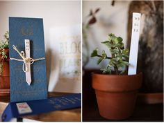 Planter with Date | 16 Alternative Wedding Invitations And Save The Dates
