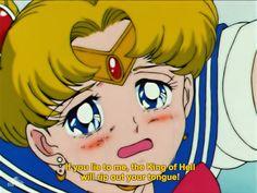 "Sailor moon episode 45 ""Death of the Sailor Guardians: The Tragic Final Battle"" (BD) Watch Sailor Moon, Arte Sailor Moon, Moon Emoji, Sailor Moon Episodes, Sailor Moon Quotes, Japanese Cartoon, Sailor Scouts, Moon Art, Moonlight"