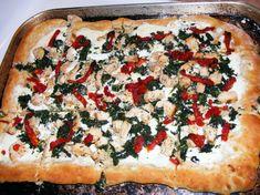 Chicken Florentine Pizza Recipe - Food.com: Food.com