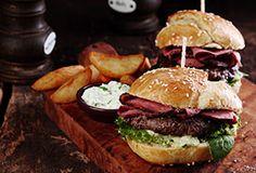 Grilled Pastrami Burger