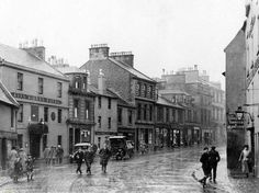 High Street, Irvine, North Ayrshire 1930s