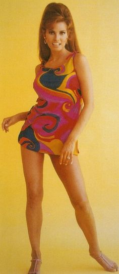 @: Racquel Welch:  One of the  flavors of the 60s.