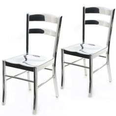 gorgeous metal chairs