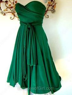 A-line Sweetheart Chiffon Knee-length Sashes/Ribbons Bridesmaid Dresses - dressesofgirl.com