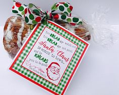 Quick and EASY CUSTOM Christmas Neighbor BREAD TAGS Friends Holiday Printables Marci Coombs Labels