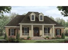 Eplans Country House Plan - Well Designed Plan - 2218 Square Feet and 4 Bedrooms from Eplans - House Plan Code HWEPL64794