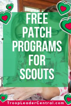 Check out this list of free patches that your Scout can earn. Did I mention that… Check out this list of free patches that your Scout can earn. Did I mention that these patch programs were completely FREE! Girl Scout Brownie Badges, Junior Girl Scout Badges, Girl Scout Juniors, Brownie Girl Scouts, Girl Scout Swap, Girl Scout Leader, Girl Scout Troop, Cub Scouts, Cadette Girl Scout Badges