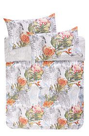 SOUTH AFRICAN HERITAGE PRINTED DUVET COVER SET