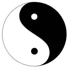 O ,símbolo del taoísmo, religión.