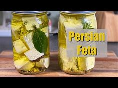 How to make Persian Feta aka Marinated Feta - YouTube