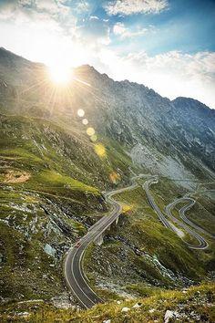 Transfagarasan Highway Romania - photography by Dean Smith